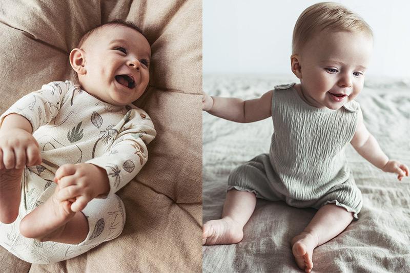 catálogo de bebé en Zara