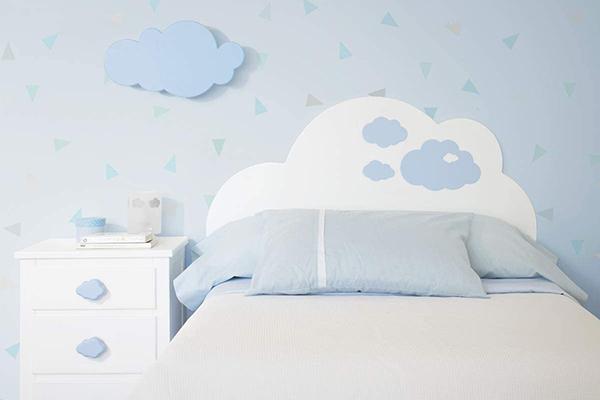 como hacer un cabecero de cama infantil