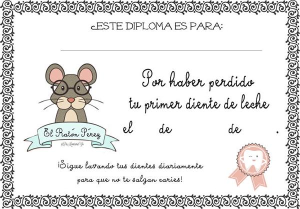 imagen del raton perez para imprimir