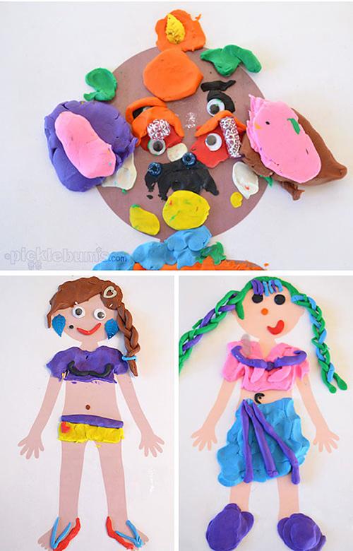 juegos de plastilina para niños