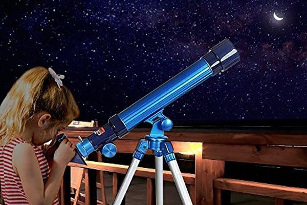 manualidad telescopio infantil