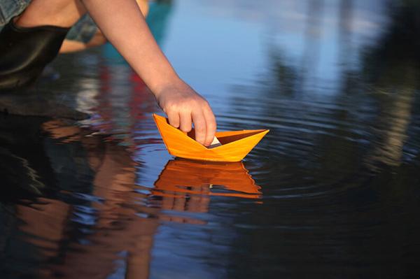barco de papel paso a paso