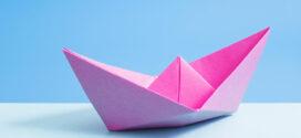 Cómo hacer un barco de papel; ¡Muy fácil!