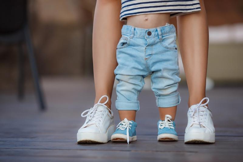 cuando deben llevar zapatos los bebés