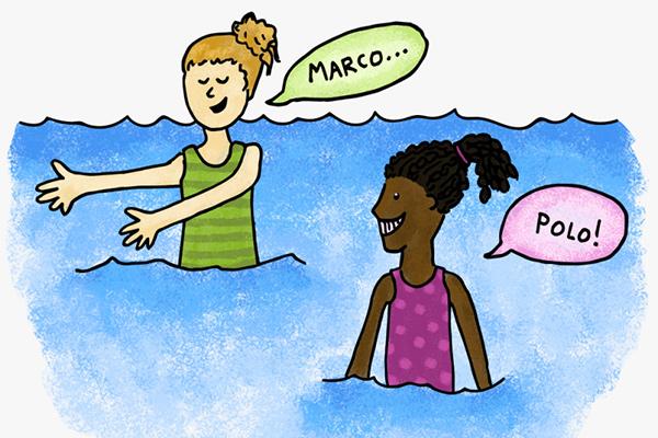 juegos acuaticos ejemplos