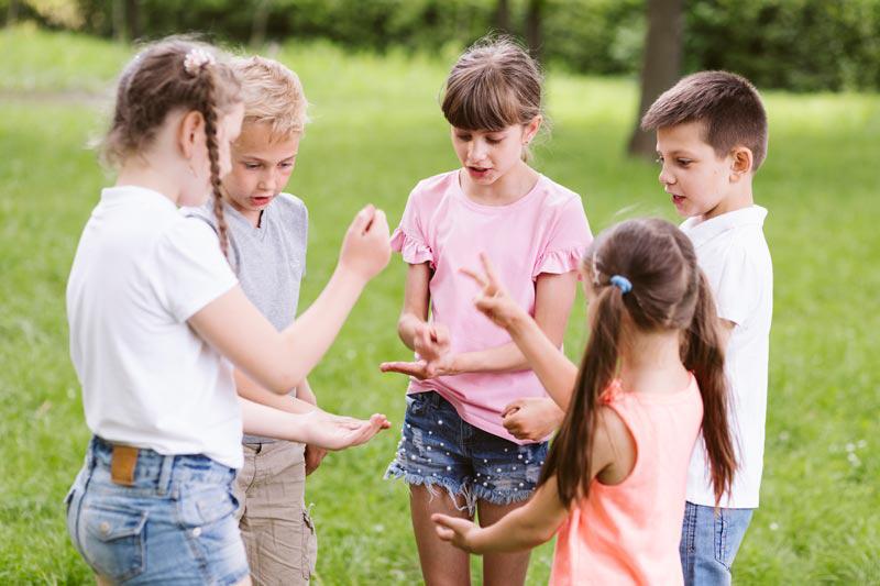 juegos de manos para niños