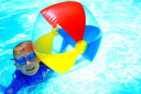 juegos infantiles natacion