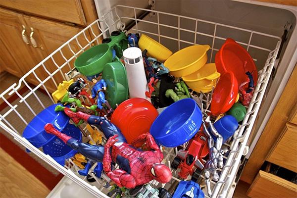 juguete limpieza para niños