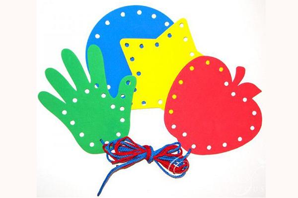 actividades de ensartar para preescolar