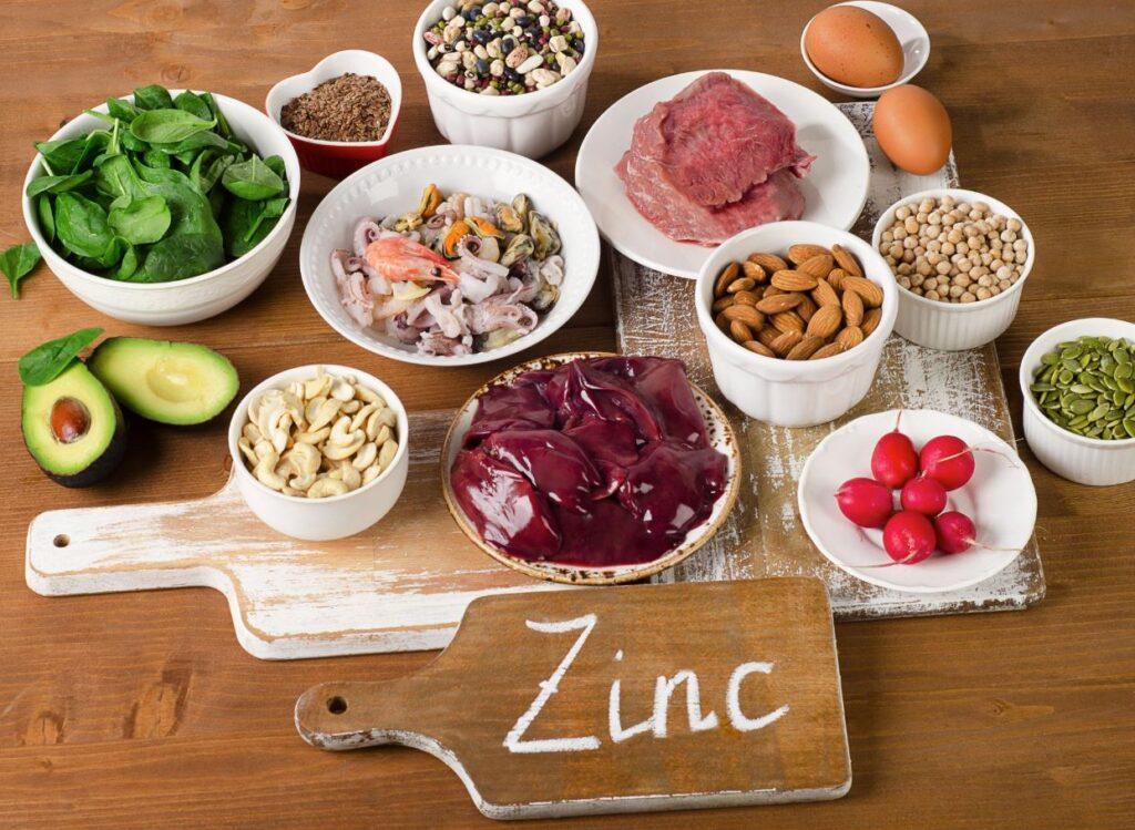 alimentos con zinc para niños
