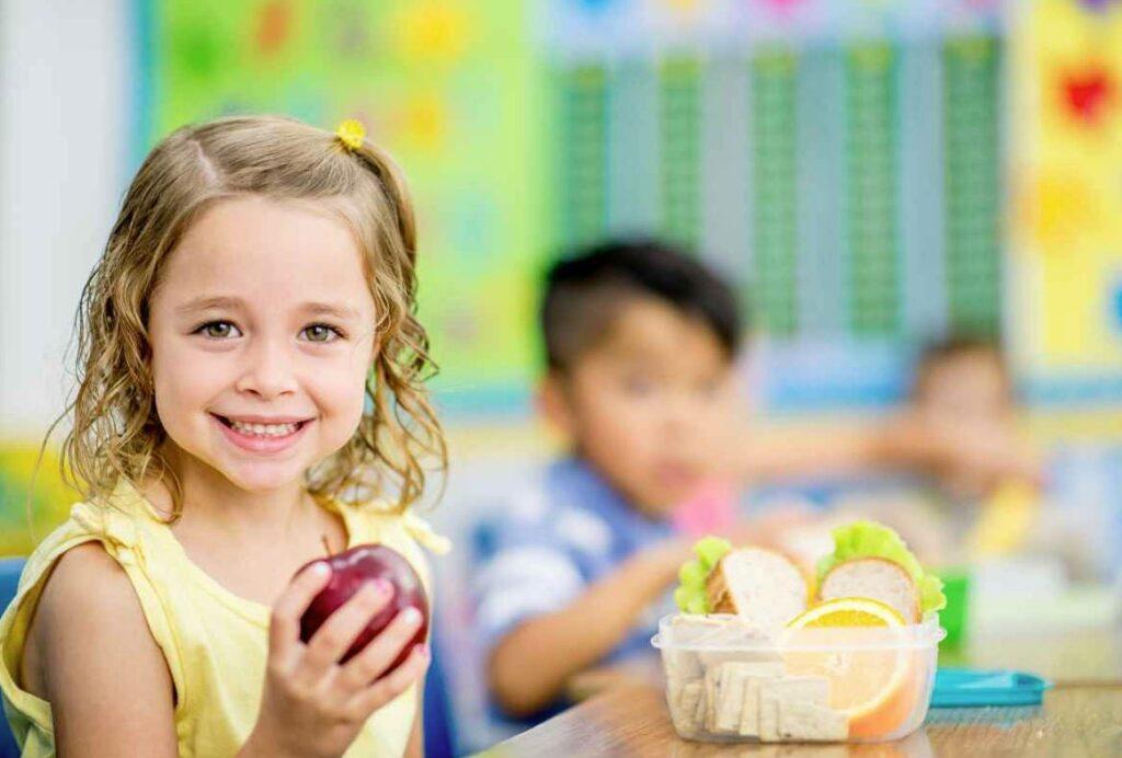 comida sana para llevar al colegio
