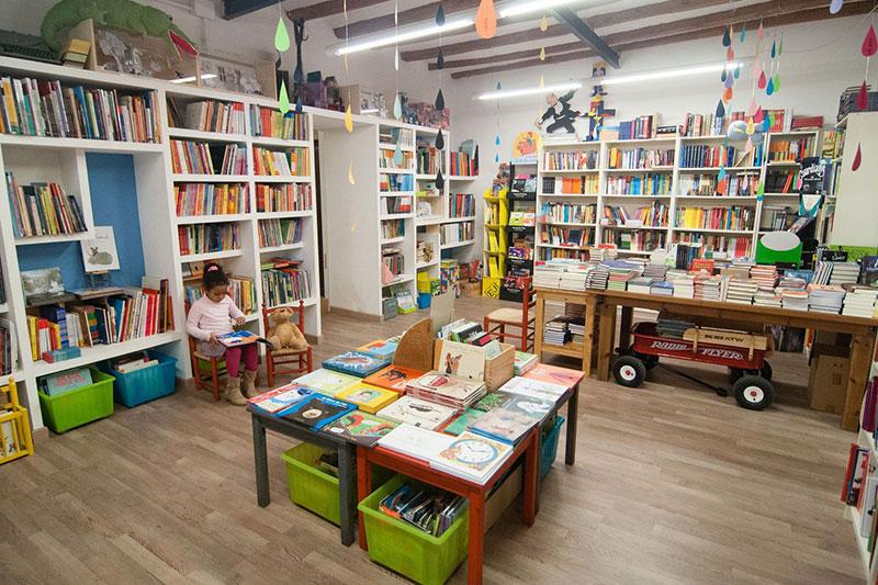 librerías infantiles recomendadas