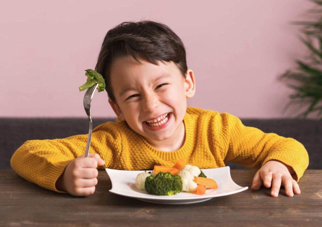 verduras para niños 3 años