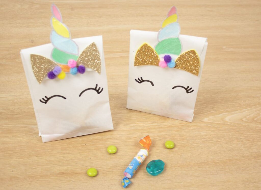 bolsas para cumpleaños de unicornio