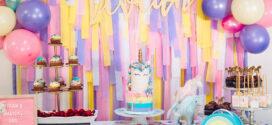 Ideas para organizar una fiesta de cumpleaños de unicornios