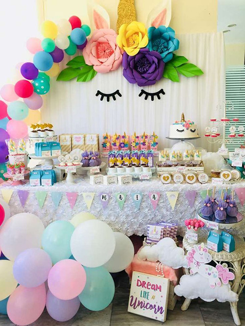 ideas decorar mesa cumpleaños