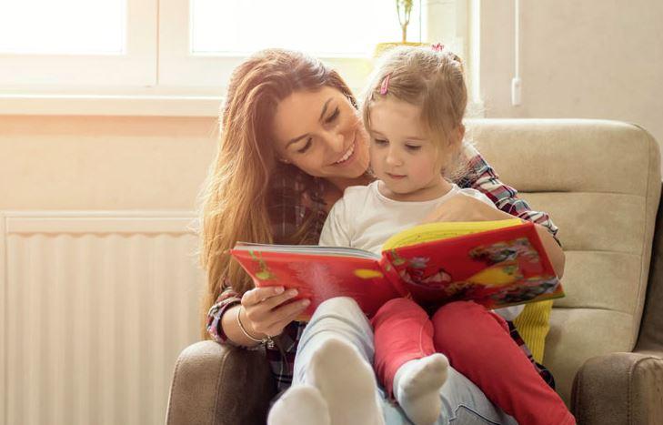 leer cuentos con niños pequeños