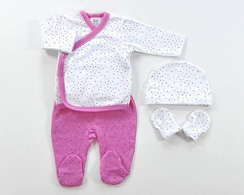 primera puesta de recién nacido niña