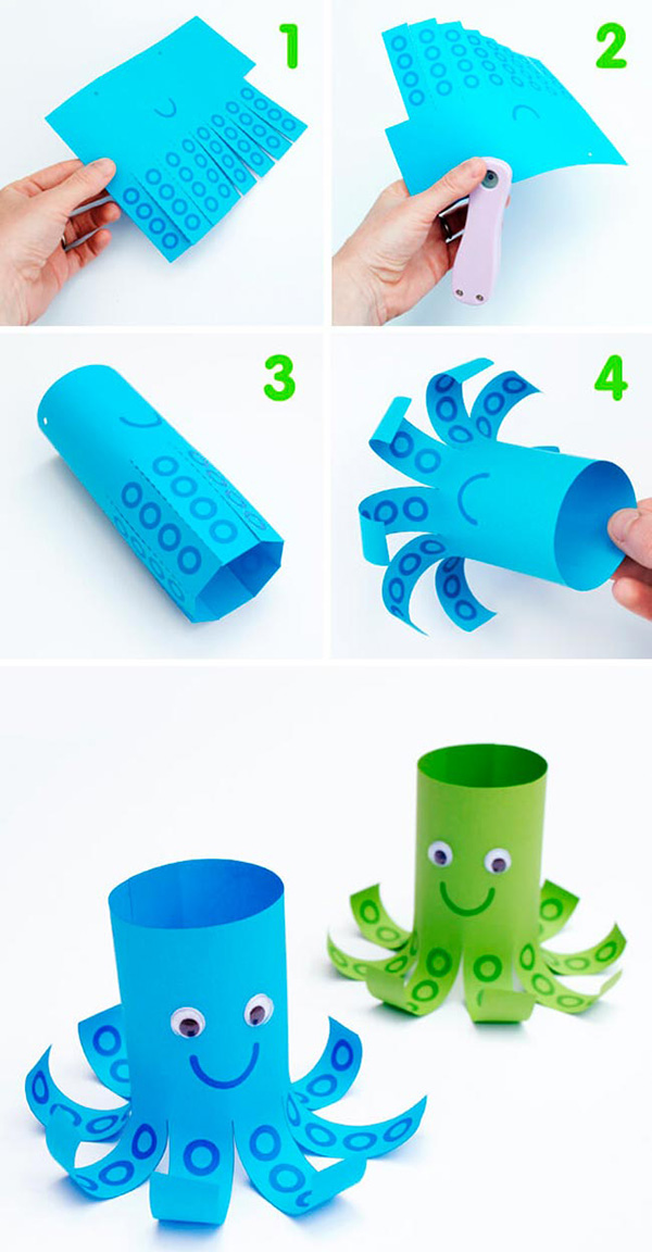 manualidades con tubos de rollo