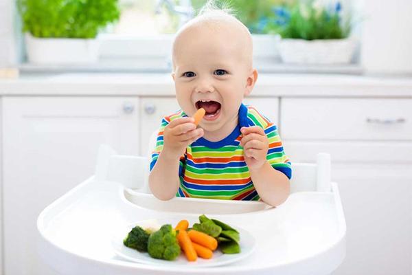 formas para que los niños coman verduras