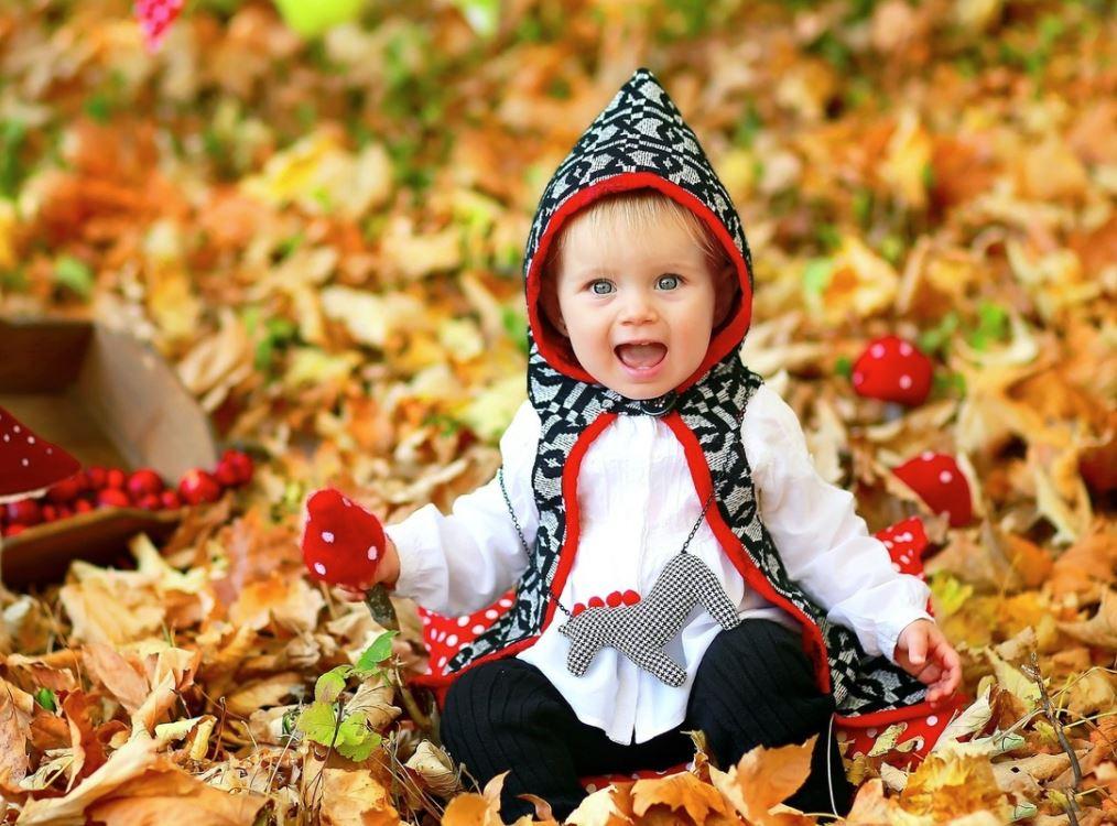vestir a un bebe en otoño