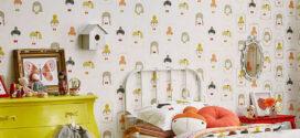Cómo decorar una habitación infantil con papel pintado