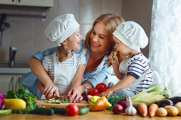 camuflar verduras para niños