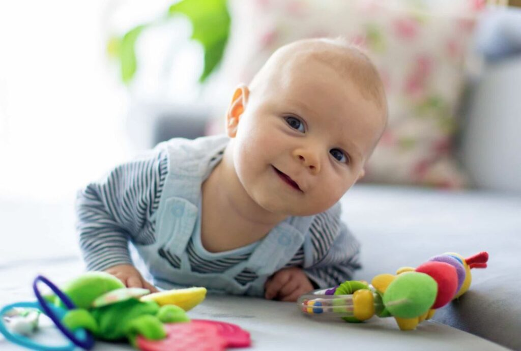 estilos de gateo en el bebe