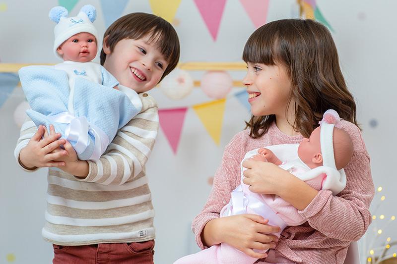 muñecas para niños y niñas
