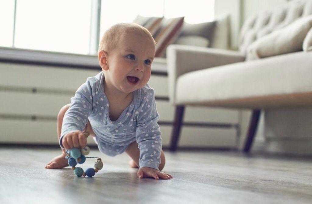 tipos de gateo en bebés