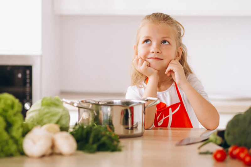 trucos para que los niños coman verduras