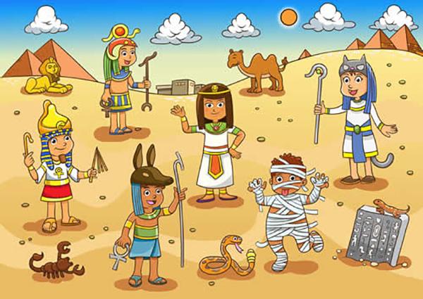 antiguo egipto mapa