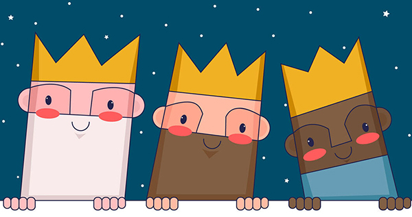 carta para explicar niños reyes magos