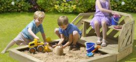 Los increíbles beneficios de los areneros infantiles