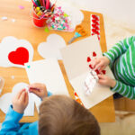 manualidad san valentin para niños