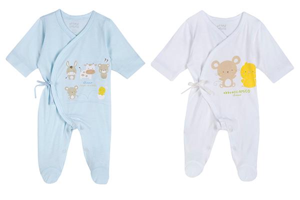 pijamas bebés prematuros