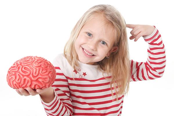 cerebro de un bebe