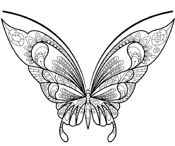 como pintar mariposas