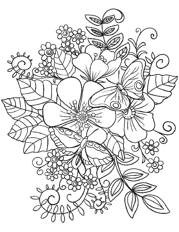 dibujo mariposas