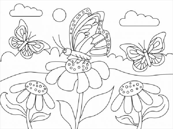 dibujos de una mariposa
