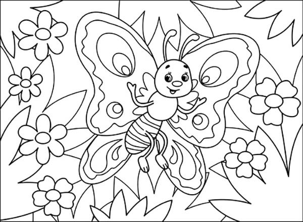 mariposas pintar