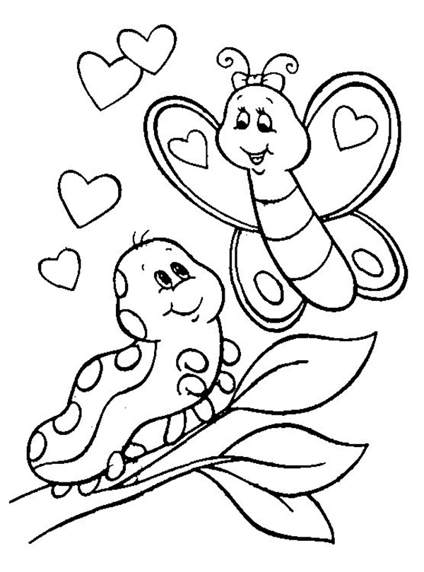 silueta mariposa para recortar