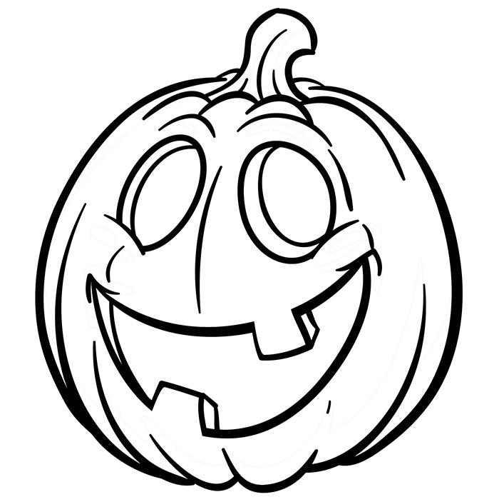 caretas de halloween para imprimir y colorear
