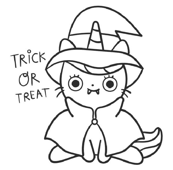 dibujos faciles de halloween