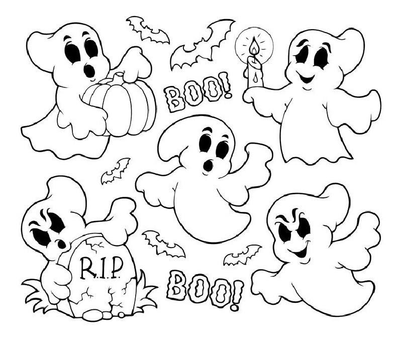 juegos de pintar de halloween