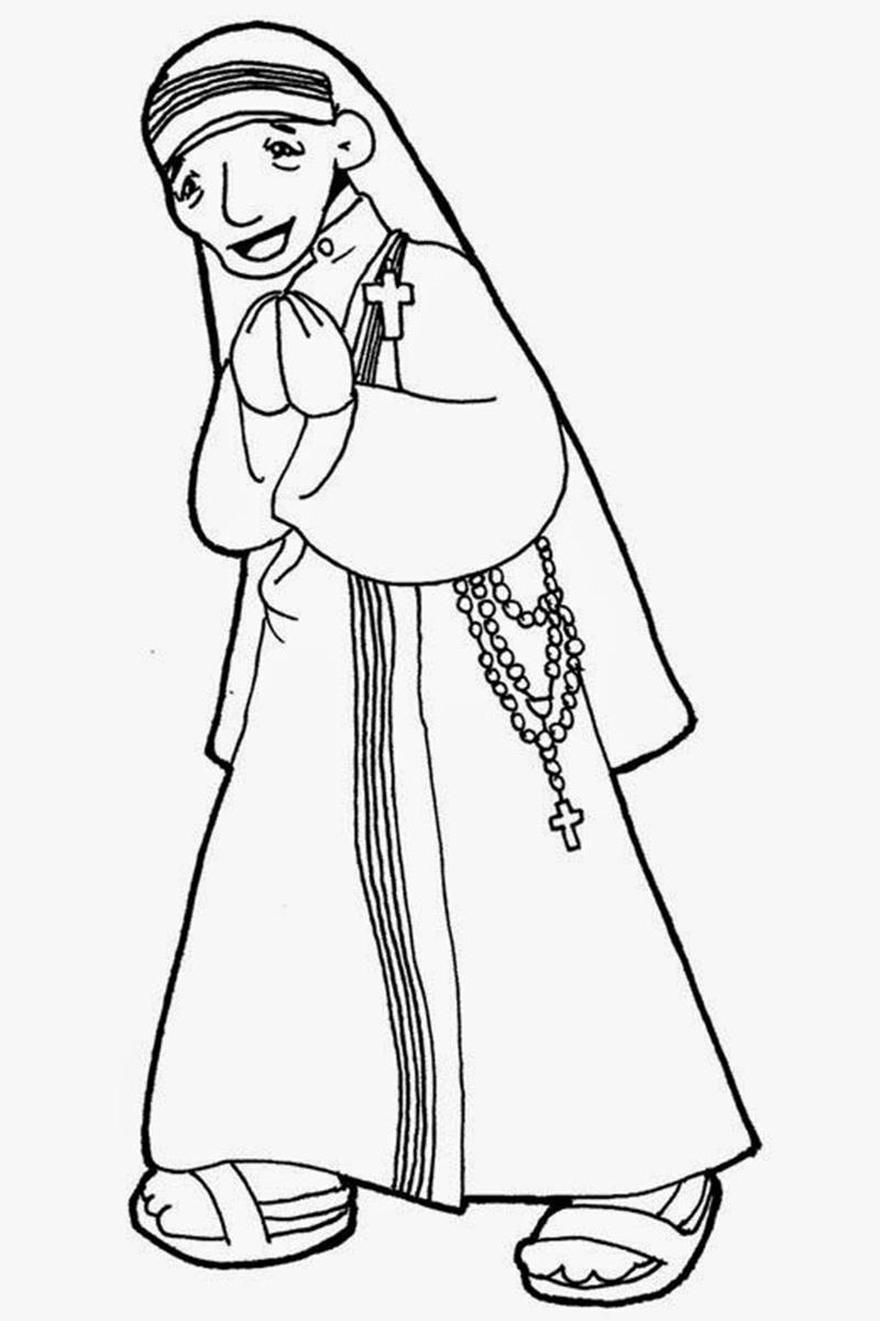 biografia de maria teresa de calcuta