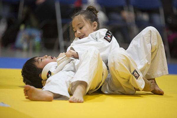 clases de judo para niños cerca de mí