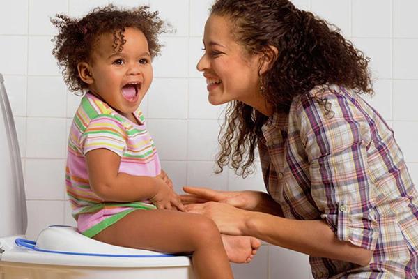 como quitar el pañal a una niña
