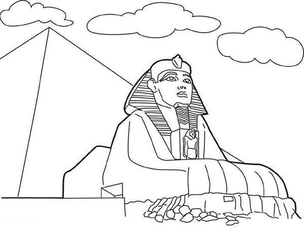 egipto dibujo