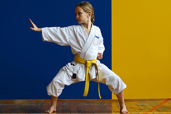 mejor escuela de karate infantil